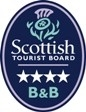 Visit Scotland 4 star bed and breakfast rating